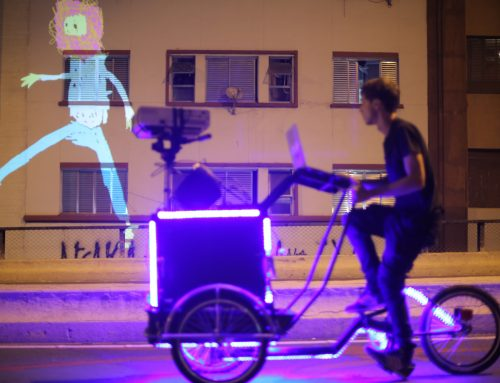 VJ Suave pintam as ruas de Lisboa com vídeo e música