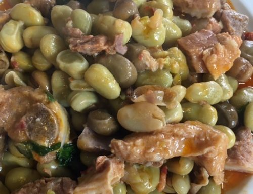 Cook4Me Bem Comer sobre as favas saloias