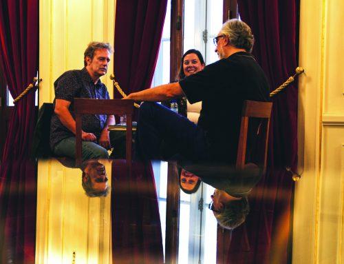 Café Central com Adolfo Luxúria Canibal e António Durães