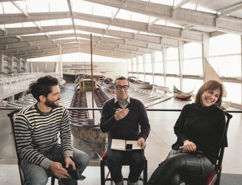 Café Central no Museu de Marinha com Katia Guerreiro e David Santos (Noiserv)