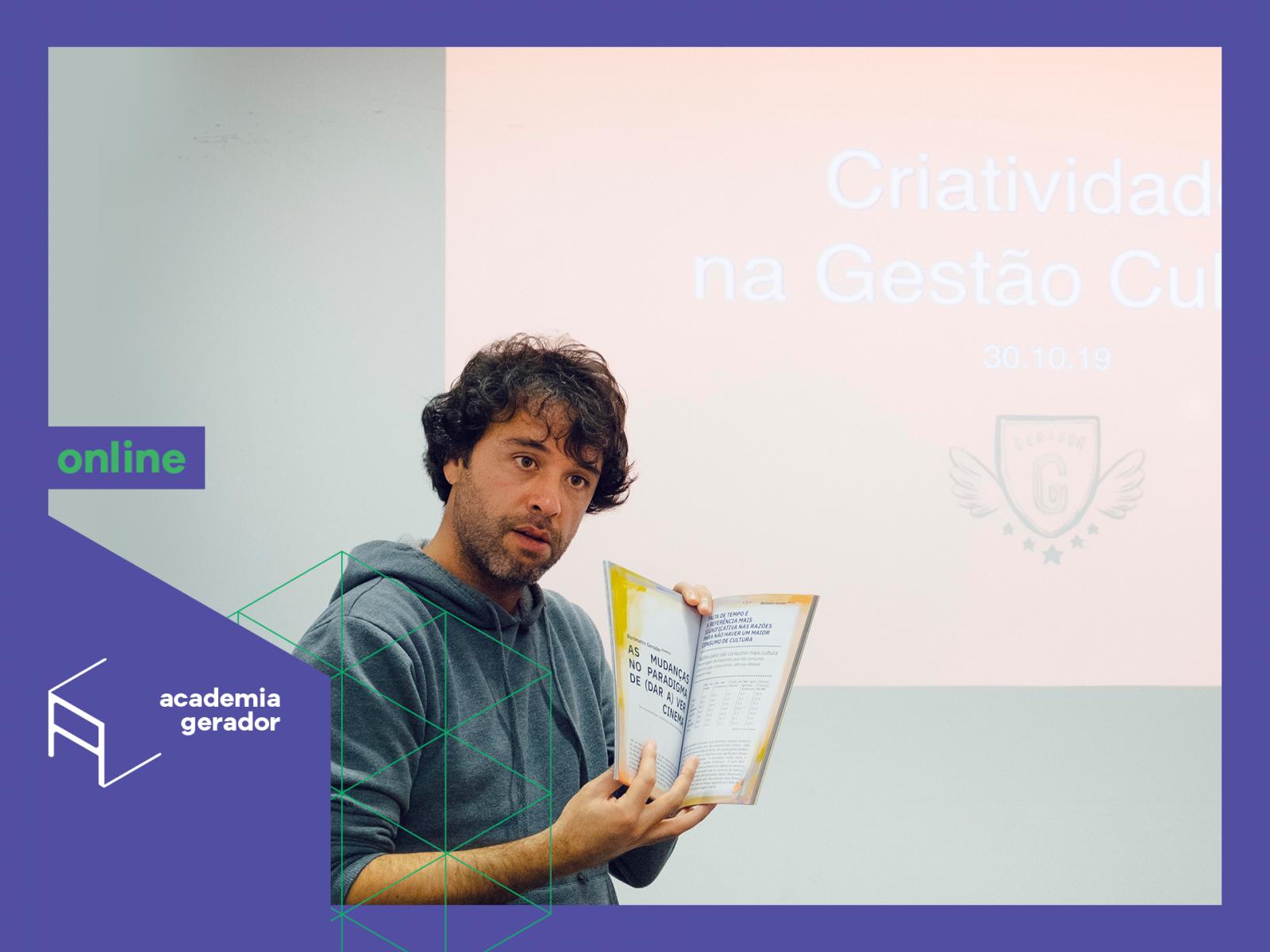 Curso Criatividade na Gestão Academia Gerador