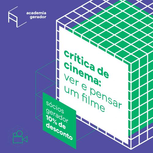 Academia Gerador curso 25h Critica de cinema