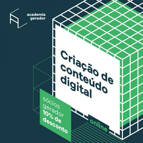 Workshop Criação de conteúdo digital