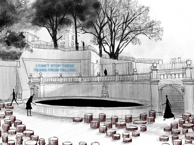 """Instalação """"Beyond the trees"""" alerta para destruição massiva do planeta"""