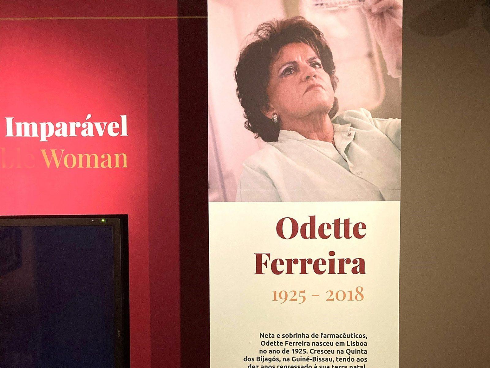"""Museu da Farmácia inaugura exposição """"Odette Ferreira"""""""