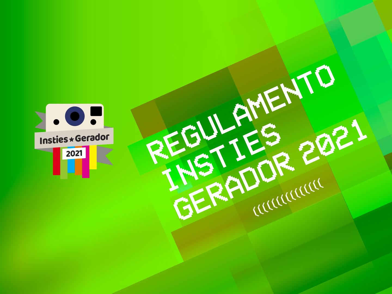 Regulamento Insties Gerador 2021