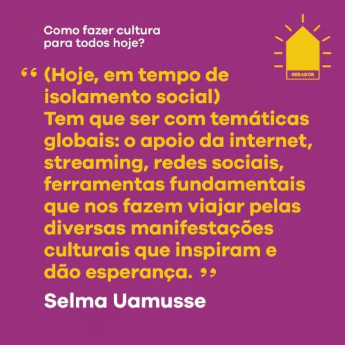 Selma Uamusse
