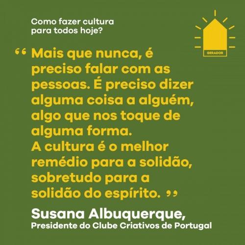 Susana Albuquerque | Clube Criativos Portugal